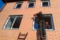 Монтаж решеток в Новосибирске
