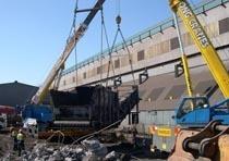 Демонтаж конструкций из металла в Новосибирске