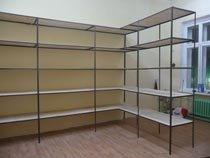 Изготовление, монтаж металлические стеллажи в Новосибирске и пригороде